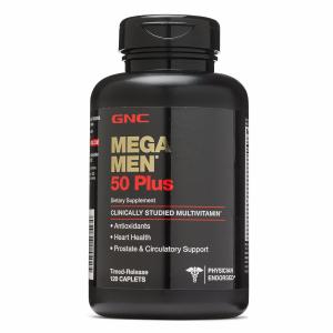 50岁及以上男士综合维生素 Mega Men® 120粒