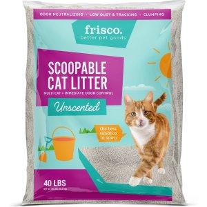 FRISCO多猫家庭无味猫砂 40lb