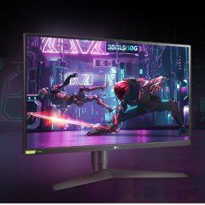 7折起 IPS电竞屏$449LG Ultragear系列 电竞显示器大促