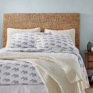 StyleWellFull 大象图案床单套装