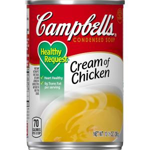 $11.4 一罐$0.95Campbell's 罐装速食浓缩鸡汤 12罐装