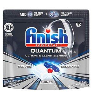 $11.67Finish 超大包装洗碗机去污洗涤球 82个