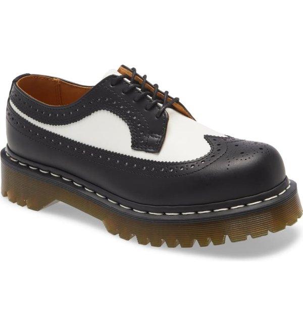 牛津厚底靴
