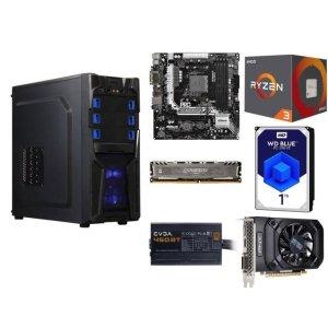$399.99 (原价$460.93)AMD Ryzen 3 1200 + AB350M + 8GB DDR4 + 1TB + 1050 + 450 BT + 机箱