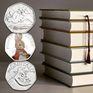 精选5折+抽奖 今日截止延长一天:The Royal Mint 精选纪念币 彼得兔、帕丁顿熊、权游星战热卖中