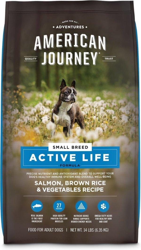 Active Life 三文鱼小型犬粮14磅