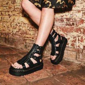 6折起 £59就收Dr.Martens官网 凉鞋大促 春夏必备 酷超更清爽