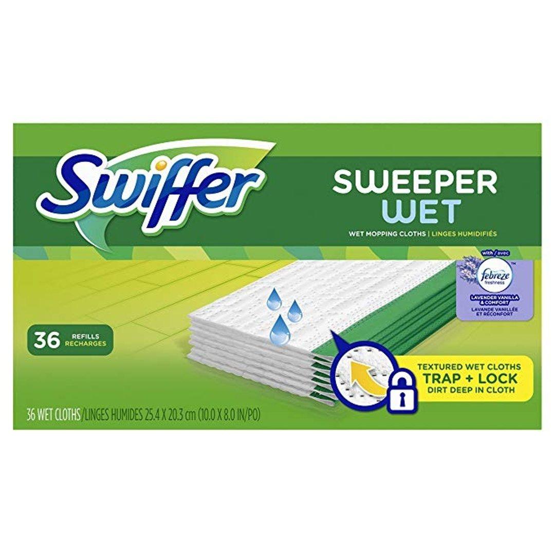 Sweeper 湿拖布替换36片
