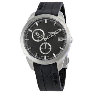 Extra $40 Off $185TISSOT Titanium GMT Black Dial Men's Watch T0694394706100