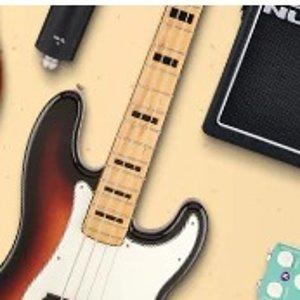 低至6折Musician's Friend 电子乐器及音乐设备大促