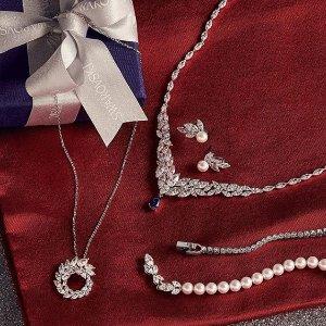 低至6.5折 $96收蝴蝶结套装最后一天:Swarovski 水晶套装特卖 漂亮又实惠