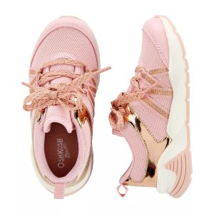 OshkoshOshKosh Rose Gold Athletic Sneakers