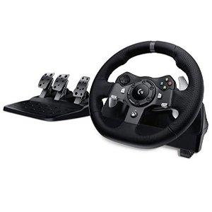 现价€184.99(原价€399)Logitech G920 赛车游戏方向盘