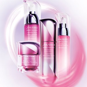 Last Day: 15%With White Lucent Collection purchase @ Shiseido