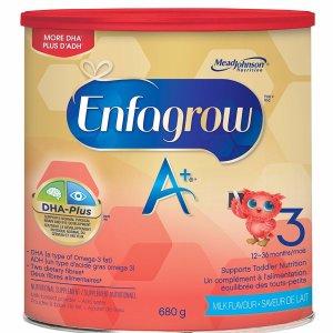 $18.52Enfagrow 美赞臣 A+ 3段幼儿配方奶粉680g