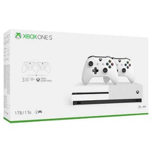 $229.99Xbox One S 1TB Bundle with 2 Controllers and 3 Month Game Pass