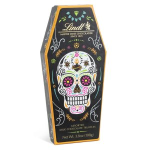 Lindt骷髅主题混合口味松露巧克力 9颗装