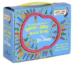 The Little Blue Box Of Bright And Early Board Books (Boxed Set) By Dr. Seuss : Target