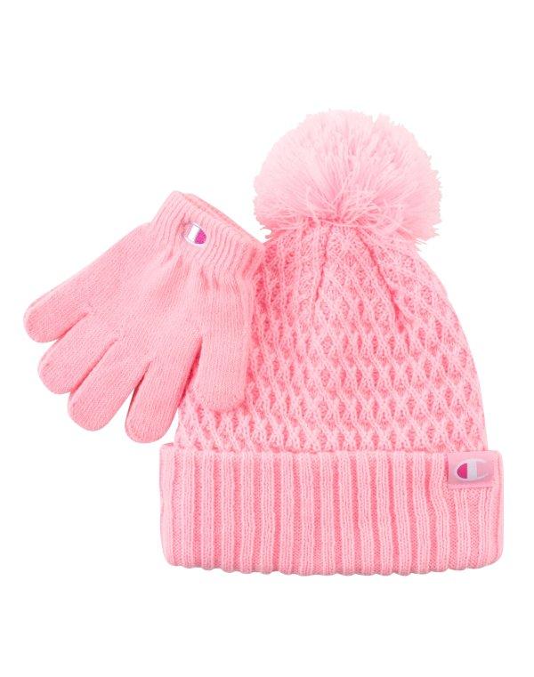 儿童针织帽+手套