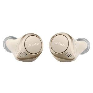 $209.99(原价$239.99)Jabra Elite 75t 真无线蓝牙耳机 米金色