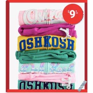 $9 and Up + Free shippingOshKosh BGosh LOGO Hoodies & Pants on Sale