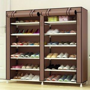 折后€27.99 蜈蚣星人必备UDEAR 6层防尘鞋架 可存放36双 给你战靴最好的保护