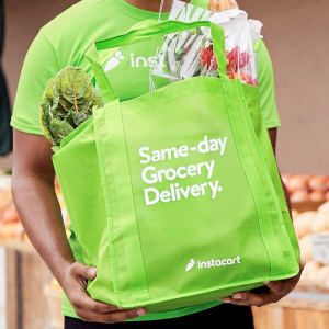 As fast as 1 HourInstacart Get Grocery Delivered to Your Doorstep