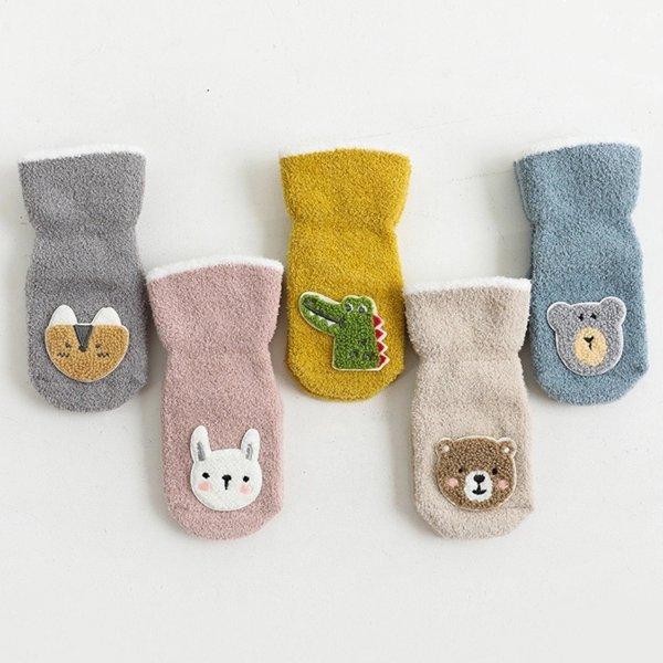 儿童抓绒袜子 多款可选