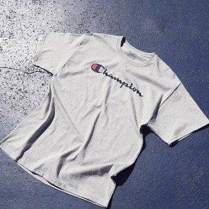 低至5折 £20收ChampionT恤折扣升级:Champion 时尚不贵 平民也能追的时尚同款