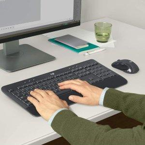 $49.99(原价$79.99)Logitech 罗技 MK545 ADVANCED 无线键盘鼠标 2件套