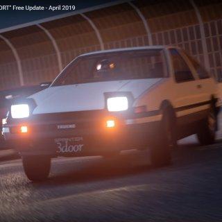 另新增本田飞度、奥迪TT《GT Sport》赛车游戏更新加入 Toyota AE86 漂移车