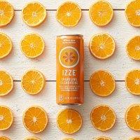 IZZE 气泡果汁 橘子口味 24罐装
