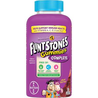 $7.61 (原价$16.99)史低价:Flintstones Vitamins 儿童复合维生素软糖