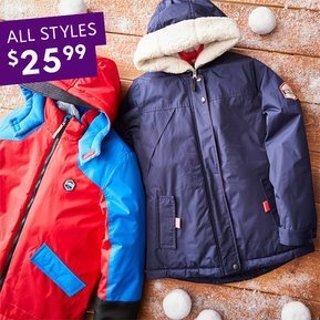 全部$25.99Zulily 儿童保暖外套特卖