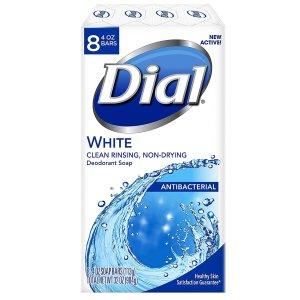 每块低至$0.4Dial 抗菌香皂热卖 多量装