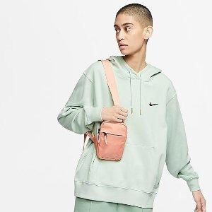 $85 收薄荷奶绿/淡香芋补货:Nike官网 爆款金标Swoosh 马卡龙卫衣人气色回归