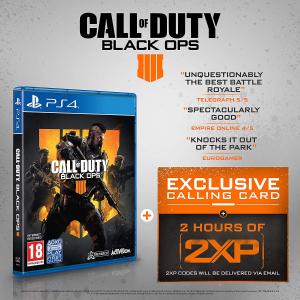 现价 £27.99(原价£49.99)《使命召唤 黑色行动4》PS4 实体版
