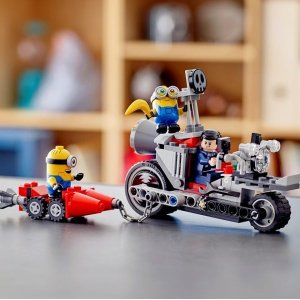 Lego75549 无法阻挡的摩托车追击