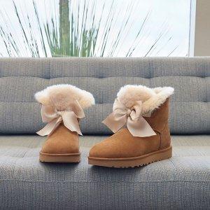 UGG Australia(UGG)晒货同款蝴蝶结雪地靴