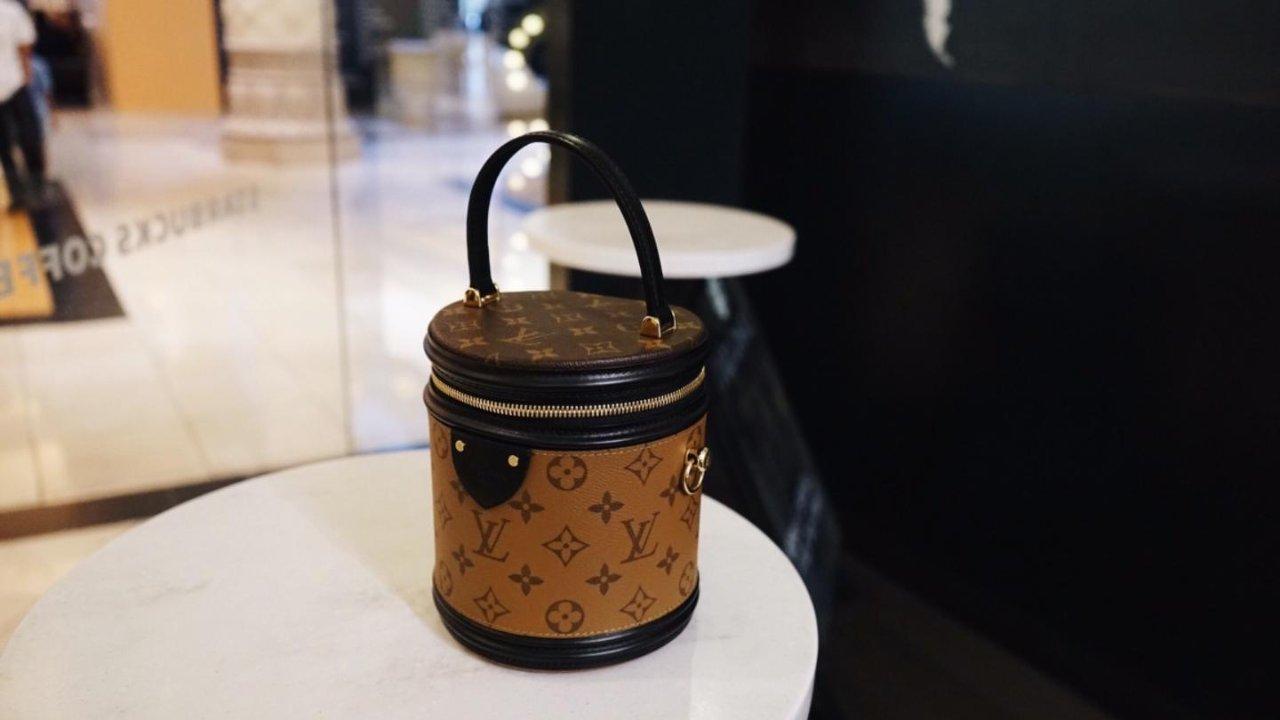 Louis Vuitton老花真香定律,小圆筒Cannes测评
