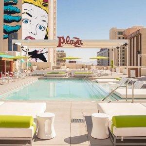 8折 每晚$32起 可免费取消Plaza Hotel & Casino 拉斯维加斯广场娱乐场酒店优惠