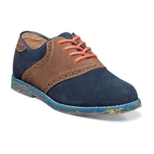 Kennett Plain Toe Saddle Jr. II by Florsheim Shoes