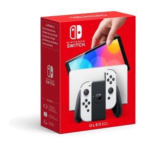 直邮美国到手价 £278.43 / $386预定:Nintendo Switch OLED 新款主机