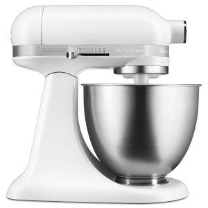 $159.95 史低速抢!限今天:KitchenAid 轻巧全自动厨师机 3.5夸脱