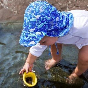 i play 儿童防晒帽促销  宽帽檐护颈 多色可选
