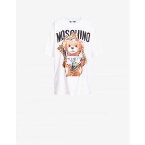 MoschinoFrame泰迪熊平纹针织T恤