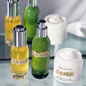 on any orderLa Mer offers Gift with Purchase