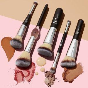 精选8折 限量版心形粉底刷€24法国打折季2021:It cosmetics大促 收神器级化妆刷、彩妆等