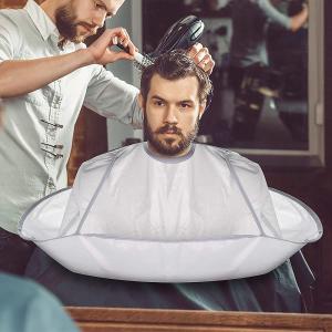 仅售€9.99 理发更便捷理发披肩 可折叠防水尼龙布 剪发、染发都可用的神器