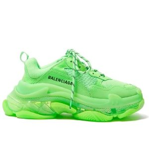 低定价$758 +可叠加AE OfferBalenciaga 老爹鞋最新限量配色